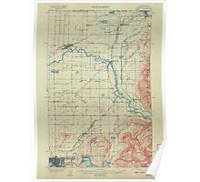 USGS Topo Map Washington State WA Sumas 244109 1908 62500 Poster