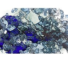 Glass Mess - Abstract render Photographic Print