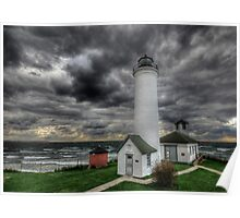 Tibbett's Point Lighthouse Poster