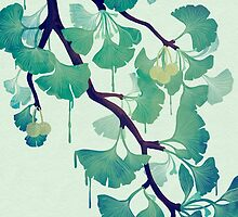 O Ginkgo (in Green) by littleclyde