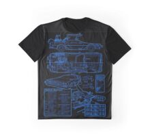 BTTF DELOREAN Graphic T-Shirt