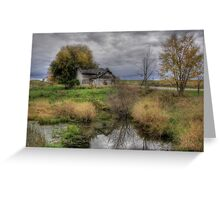Rural Decay in Alex Bay Greeting Card