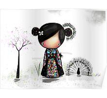 patchwork kimono Poster