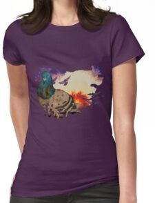 Pigeon! Womens Fitted T-Shirt