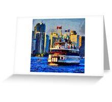 Boat on Ontario Lake Greeting Card