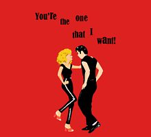 "Grease ""You're the One That I Want"" Womens Fitted T-Shirt"