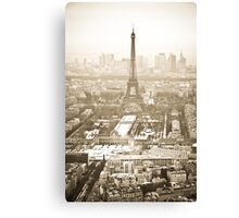 Everlasting Eiffel Tower Canvas Print