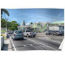 Shirley Street in Nassau, The Bahamas Poster