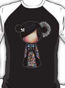 patchwork kimono T-Shirt