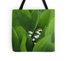 Birth Month Flower - May - Lily of the Valley Tote Bag