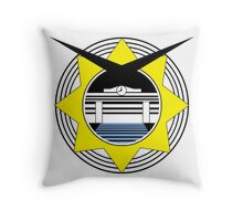 BTTF HILL VALLEY LOGO Throw Pillow