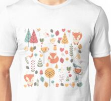 Baby fox pattern 04 Unisex T-Shirt