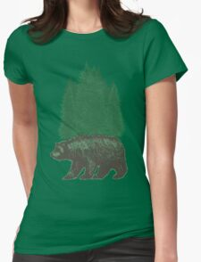 Nature Walk Womens Fitted T-Shirt