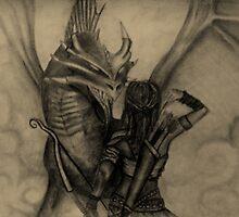 Athena's Battle with the Dragon by Tabitha Longbrake