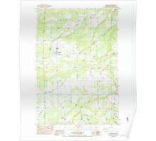 USGS Topo Map Washington State WA Onalaska 242967 1984 24000 Poster