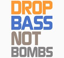 Drop Bass Not Bombs (Grateful) Unisex T-Shirt