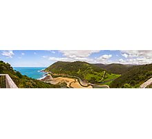 Teddy's Lookout Panorama Photographic Print