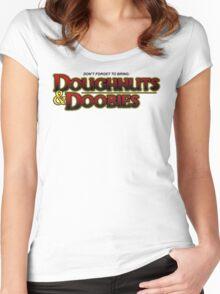 D&D Women's Fitted Scoop T-Shirt