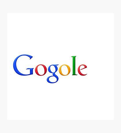 gogole google Photographic Print