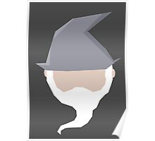 Gandalf ball Poster