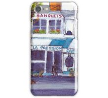 Cafe Louis, Paris iPhone Case/Skin