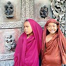 Young Monks  by Ethna Gillespie