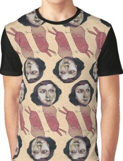 Pink Mermaid Graphic T-Shirt