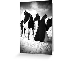 Triple Crown Wishes Greeting Card