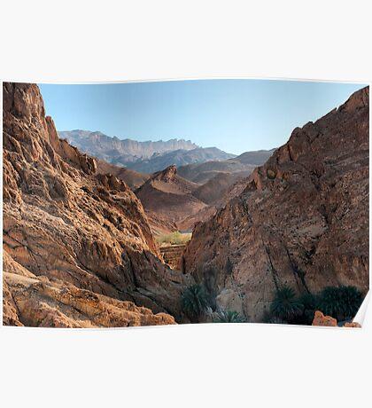 Atlas Mountains - Tunisia Poster