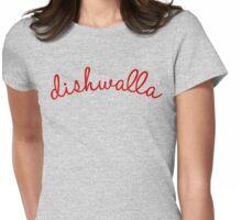 "Dishwalla: ""Handwritten"" Logo Womens Fitted T-Shirt"