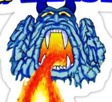 fireball island 80's board game Sticker