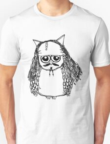 Captain Jack Sparrow Owl T-Shirt