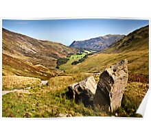 Grisedale Valley - Cumbria Poster
