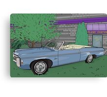 1969 Chevrolet Impala : Fast Cars & Cool Duco Canvas Print
