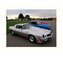 American Muscle Cars  Art Print
