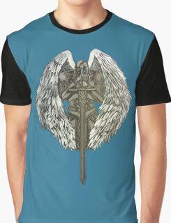 Guardian Angel Knight Graphic T-Shirt