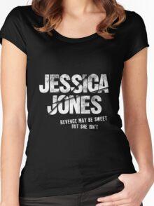 Jessica Jones - Sweet Revenge Women's Fitted Scoop T-Shirt