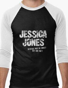 Jessica Jones - Sweet Revenge Men's Baseball ¾ T-Shirt