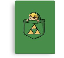 Legend of Zelda - Pocket Link Canvas Print