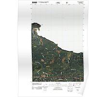 USGS Topo Map Washington State WA Pysht 20110506 TM Poster