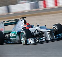Michael Schumacher 2012  by SHUTTERBLADE