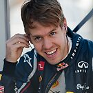 Sebastian Vettel 2012  by SHUTTERBLADE