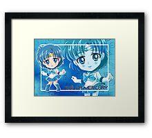 Chibi Sailor Mercury Framed Print