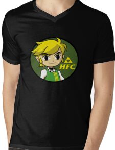 Hyrule Fried Cuccos Mens V-Neck T-Shirt