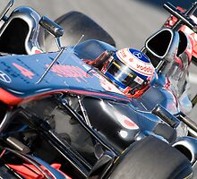 Jenson Button 2011 by SHUTTERBLADE