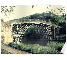 The Worlds first Ironbridge. 2. Poster