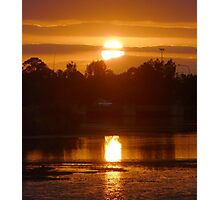 Reflected Sunlight Photographic Print