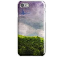 Memories of Purple-Green iPhone Case/Skin