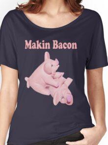 ✾◕‿◕✾ MAKIN BACON TEE SHIRT ✾◕‿◕✾ Women's Relaxed Fit T-Shirt