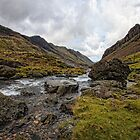 Llanberis Pass Snowdonia National Park by Dean Bedding